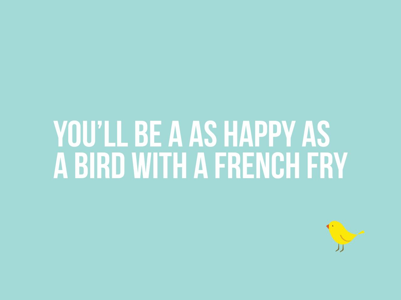 Blog - Lorinda from a Bird with a French Fry